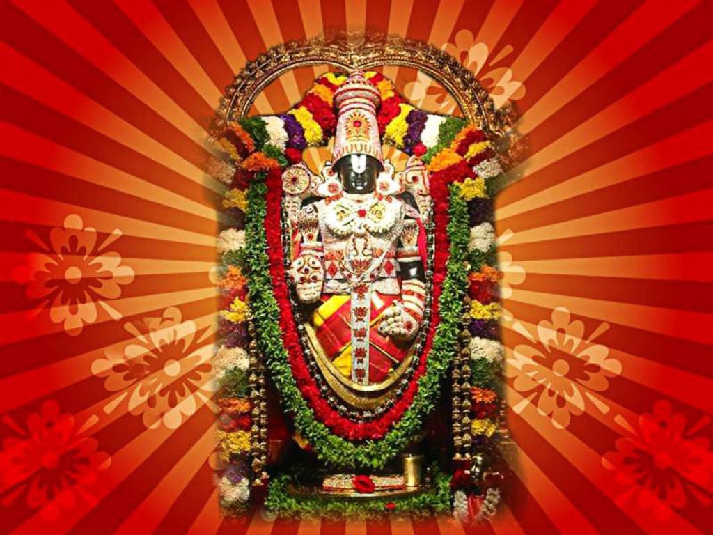 God Venkateswara imge with 3d background