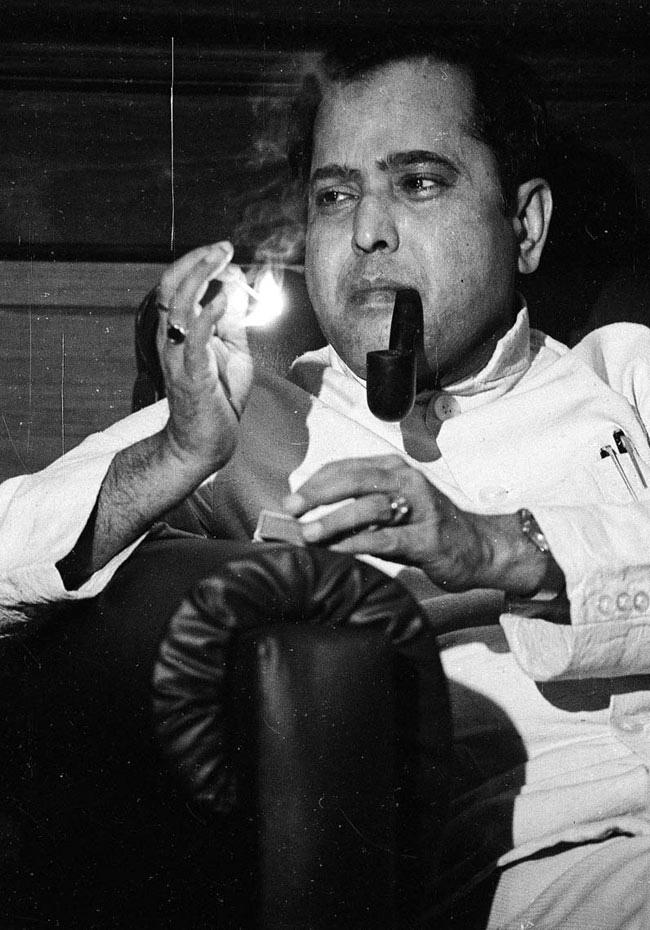4. President Pranab Mukherjee, a few decades ago.