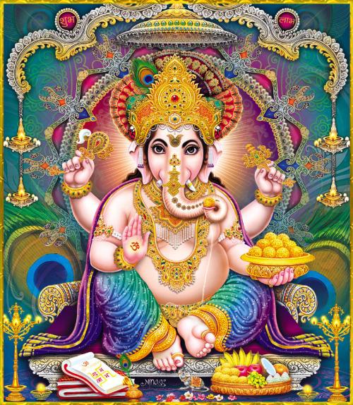 Golden Ganesh
