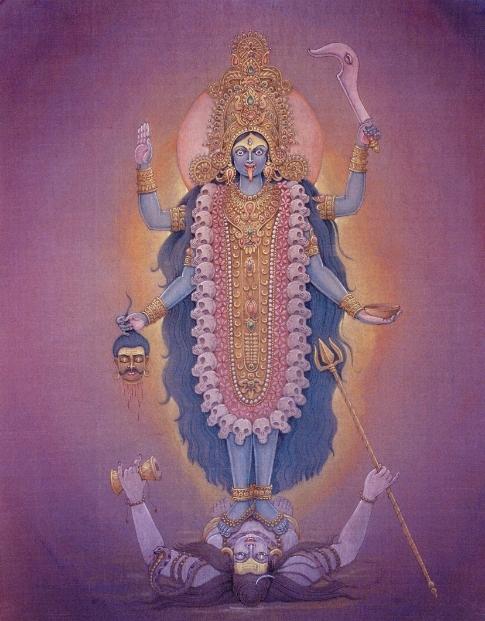 Kaali Maa and Shiva