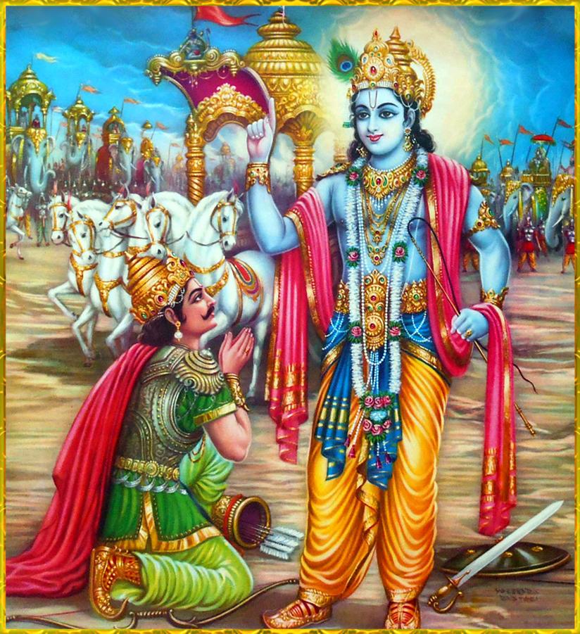 Krishna Arjun In MahaBharat