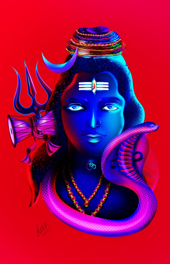 Lord Shiva Digital Photo