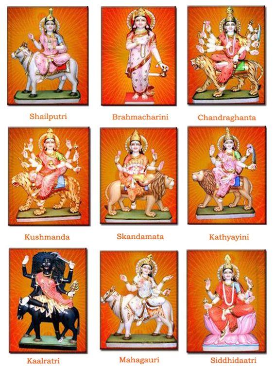 Navratri Nine Forms of Goddess Durga