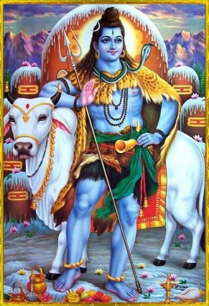 Shiva Standing Blessing