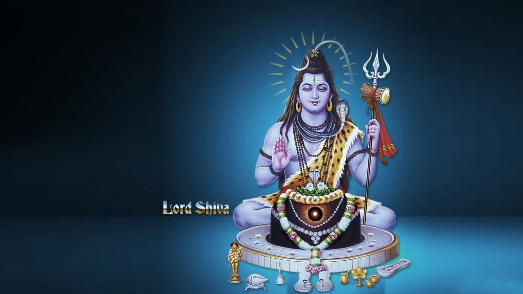 Lord Shiva with Lingam