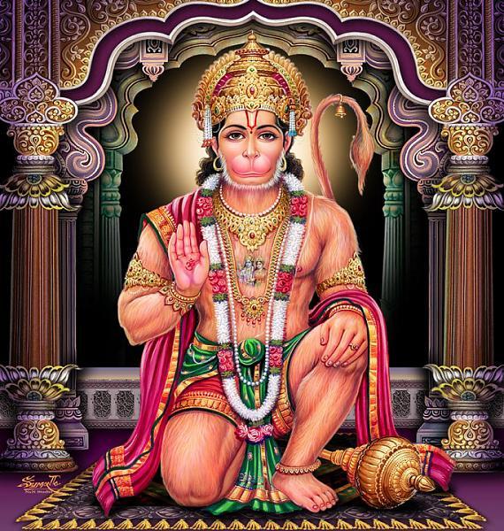 Mangal Hanuman Aarti