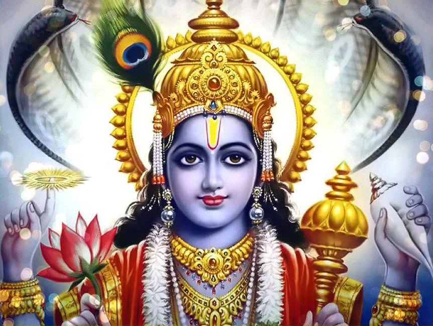 Vishnu Face
