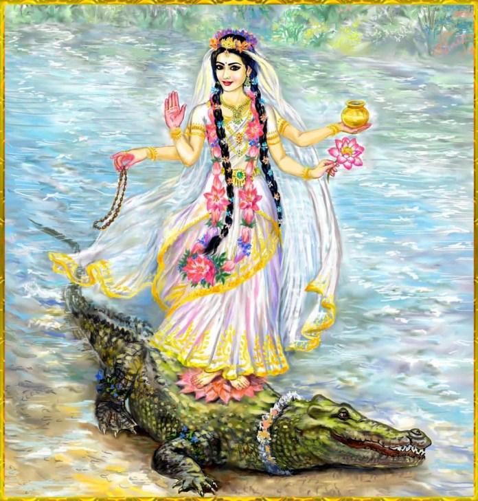 Ganga Maa on Magar