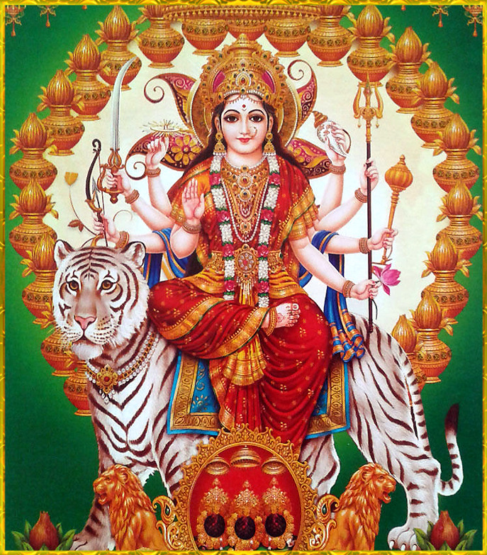 Durga Maa Beautiful Photo