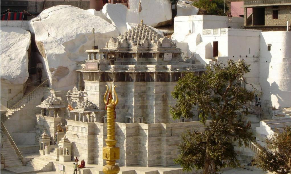 Sundha Mata Temple External View
