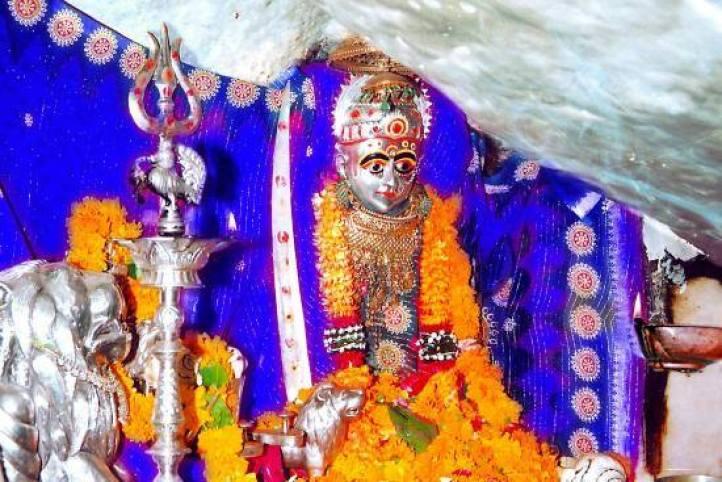 Sundha Maa in Blue
