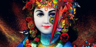 Beautiful Lord Krishna Image