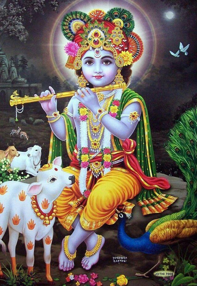 Lord Krishna Beautiful HD Image
