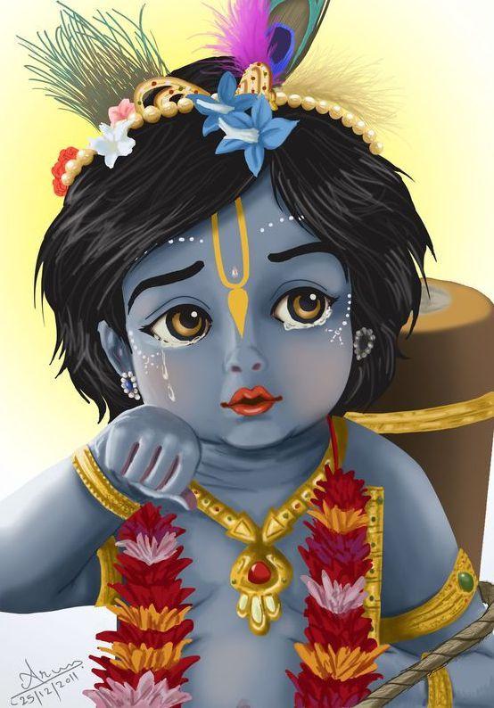 Lord Krishna Childhood Image