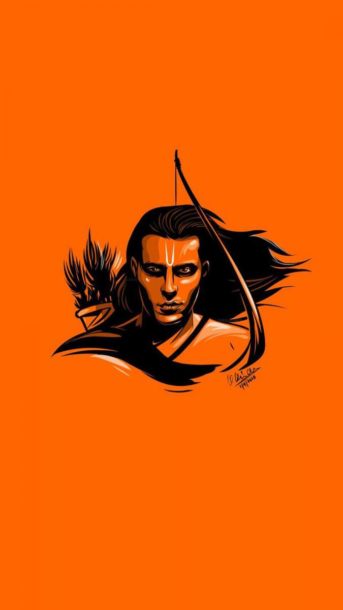 Shri Ram Mobile Wallpaper