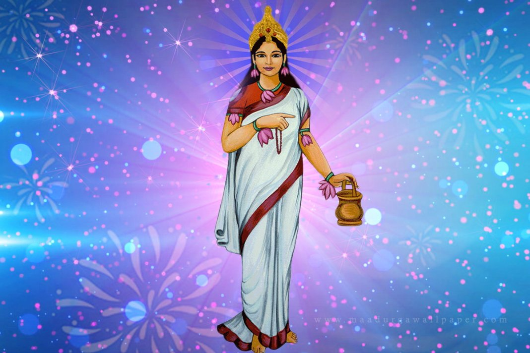 Goddess Brahmacharini Wallpaper
