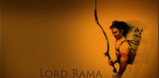 Lord Rama Amazing Art