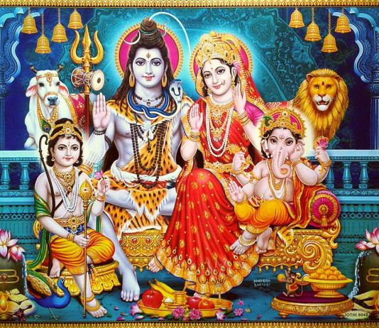 Shiva-Parvati : Father & Mother of the universe