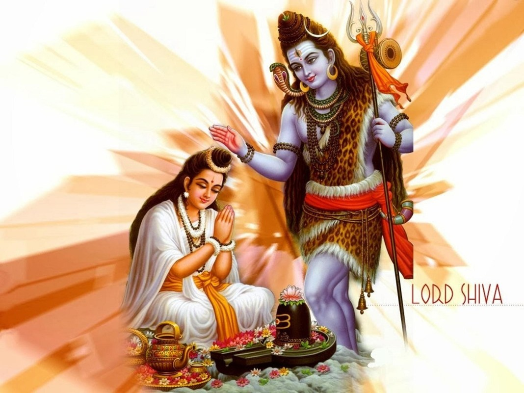 Lord Shiva Giving Blessing