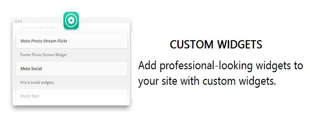 moto theme_custom widget