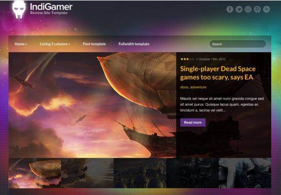 CSS Igniter IndieGamer WordPress Theme