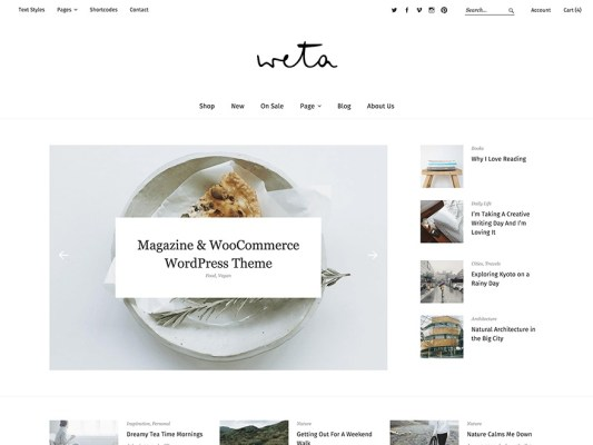 Elmastudio Weta WordPress Theme
