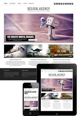 Dessign Design Agency Responsive WordPress Theme 1