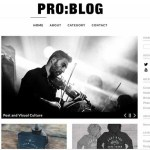 dessign pro blog responsive wordpress them