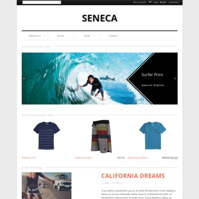 Graph Paper Press Seneca WordPress Theme