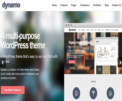 Obox Themes Dynamo WordPress Theme