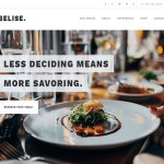 Multipurpose / Responsive / Excellent WordPress Theme for Restaurants and WooCommerce Shops.