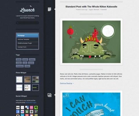 ThemeZilla Launch WordPress Theme 1