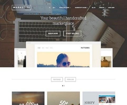 Themeforest Astoundify Marketify Marketplace Theme