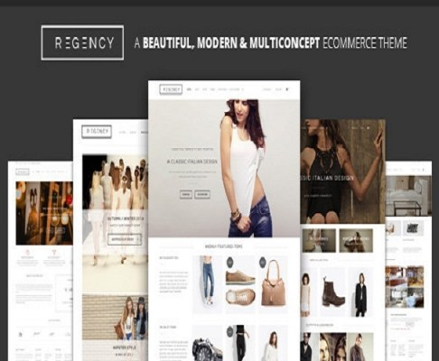 Themeforest Regency Modern Ecommerce Theme