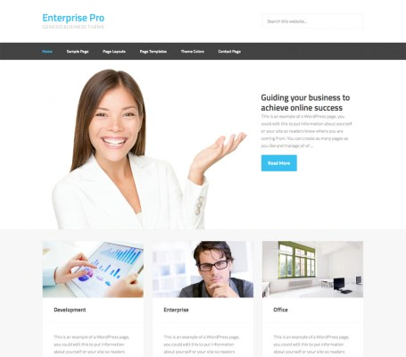 studiopress enterprise pro wordpress theme