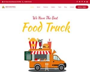 Premium Moto Theme Food Truck