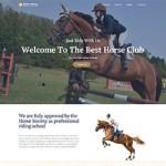 Premium Moto Theme Horse Club