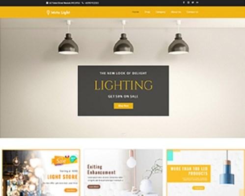 Premium Moto Theme Lighting Store