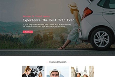 Premium Moto Theme Travel Agent