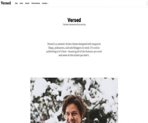 themezilla versed wordpress theme