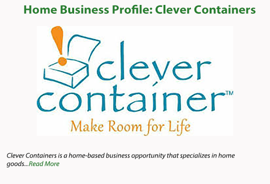 home business profile clever container