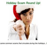 'Tis the season for scammers