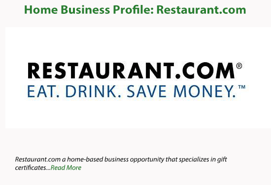 Work At Home Faqhome Business Profile Restaurant