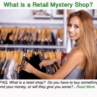 What is a Retail Mystery Shop?