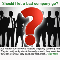Should I let a bad company go?