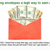 Is stuffing envelopes a legit way to earn money?