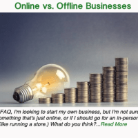 Offline vs. Online Businesses