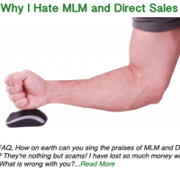 Why I hate MLM and Direct Sales