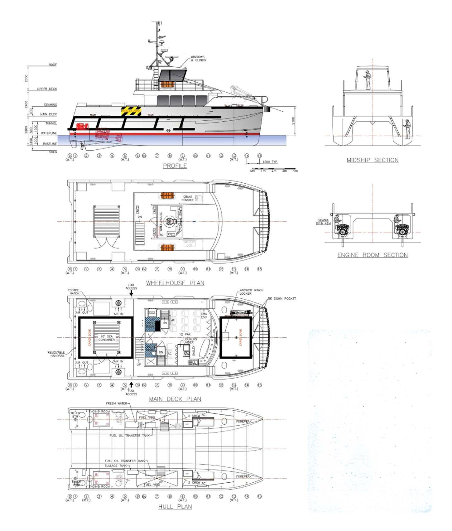 18 5m Passenger Ferry For Sale Amp Charter By Workboatsales