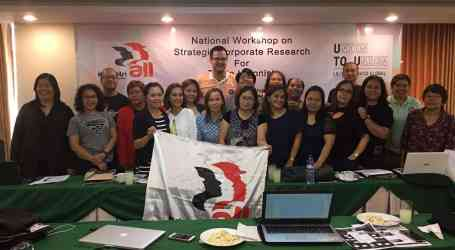 Philippines: Strengthening research capacity of trade unions